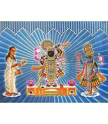 Srinathji, Krishna and Sudama