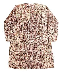 Batik Print Cotton Kurta