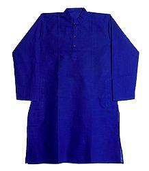 Dark Blue Full Sleeve Kurta