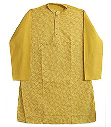 Amber Embroidered Full Sleeve Long Kurta