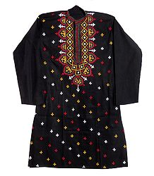 Gujrati Embroidered Kurta