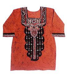 Batik Kurta