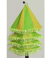 Foldable Hanging Square Cloth Lamp Shade