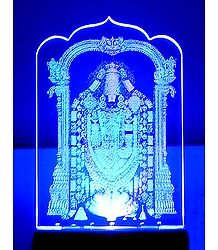 Balaji Plug-on Color Changing Night Lamp with Adaptor