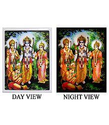 Ram Darbar Plug-on Night Lamp with Adaptor