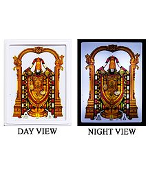 Lord Balaji Plug-on Night Lamp with Adaptor