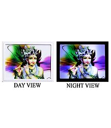 Murlidhar Krishna Plug-on Night Lamp with Adaptor