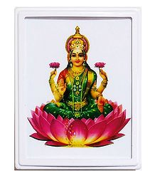 Goddess Lakshmi Plug-on Night Lamp with Adaptor