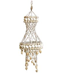 Lamp shades from india online store shell jhalar lamp shade aloadofball Image collections