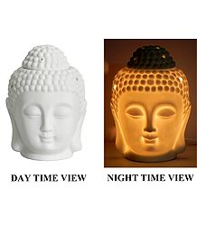 Buddha Head Lampshade and Diffuser with Adapter