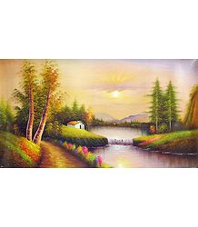 Picturesque Nature - Poster