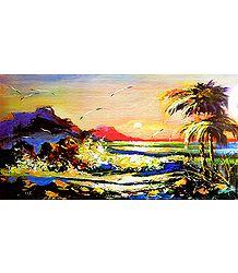 Landscape Painting Reprint - Poster