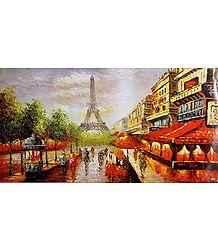 Paris Landscape Poster - Poster