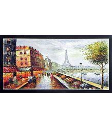 Paris Landscape Poster