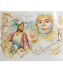 Omar Khayyam and Saqi