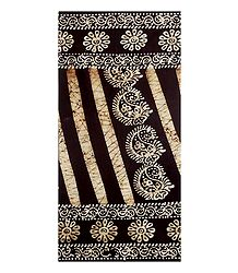 Dark Chocolate Batik Cotton Lungi