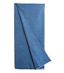 Blue Check Cotton Lungi
