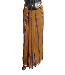 Buy Cotton Lungi with ikkat Design