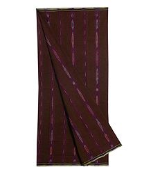 Brown Ikkat Cotton Lungi