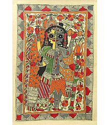 Ardhanarishwar - Madhubani Folk Art - Book