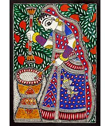Shop Online Madhubani Painting