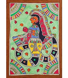 Buy Madhubani Painting