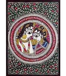 Shop Online Madhubani Radha Krishna
