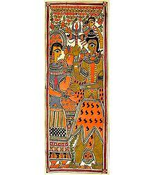 Shiva Weds Parvati