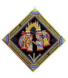Women with Water Pots - Wall Hanging