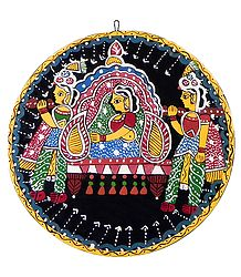 Bride on a Palanquin - Wall Hanging
