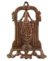 Lord Venkateshwara - Metal Wall Hanging