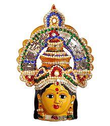 Devi Kanyakumari Face
