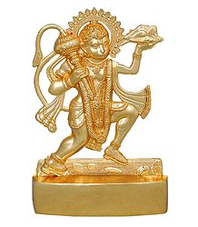 Metal Hanuman for Car Dashboard