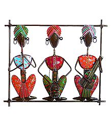 Colorful Musicians - Wall hanging