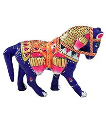 Multicolor Laquered Horse