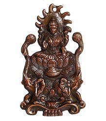 Gajalakshmi - Metal Wall Hanging