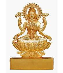 Metal Lakshmi for Car Dashboard