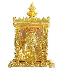 Metal Bal Gopala in Temple