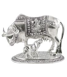 White Metal Kamdhenu