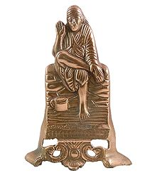 Shirdi Saibaba Metal Wall Hanging
