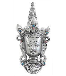 Maitreya Buddha Face - Wall Hanging