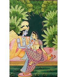 The Secret Rendezvous of Radha Krishna