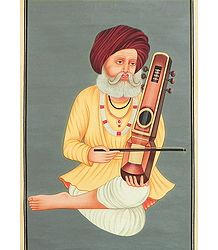 Rajput Sarangi Player
