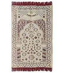 Reversible Designer Cotton Islamic Namaz Mat