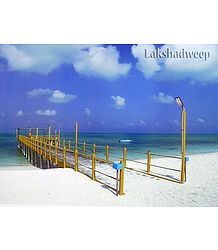 Agatti Island Pier, Lakshadweep, India - Poster