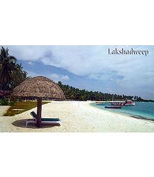 Sea Coast at Bangaram Island, Lakshadweep, India