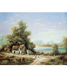 Farm House Near River