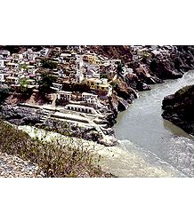Bhagirathi and Alakananda River - Photo Print