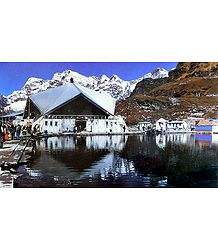 Hemkund Saheb - Photographed by Dhirendra Singh Bisht
