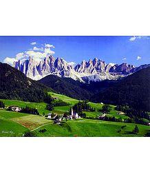 St. Magdalena, South Tyrol, Italy